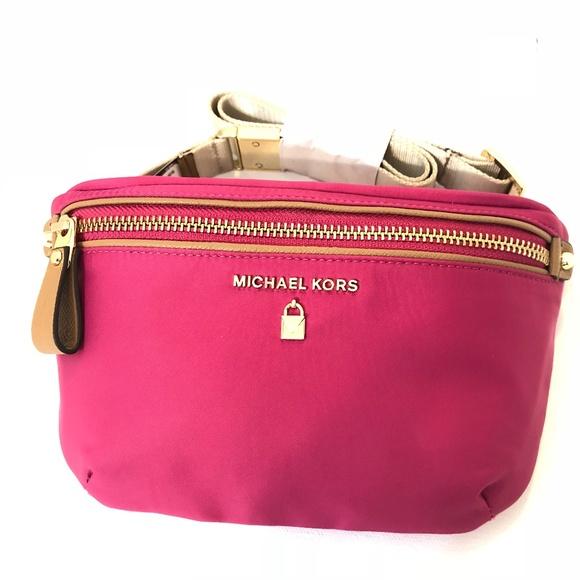 86f5e95fdafa MICHAEL Michael Kors Bags | Nylon Fanny Pack Belt Bag Nwt | Poshmark